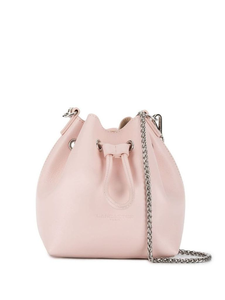 Lancaster chain bucket bag - Pink