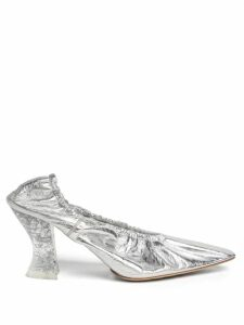 Wiggy Kit - Marina Floral Print Silk Maxi Dress - Womens - Blue Multi