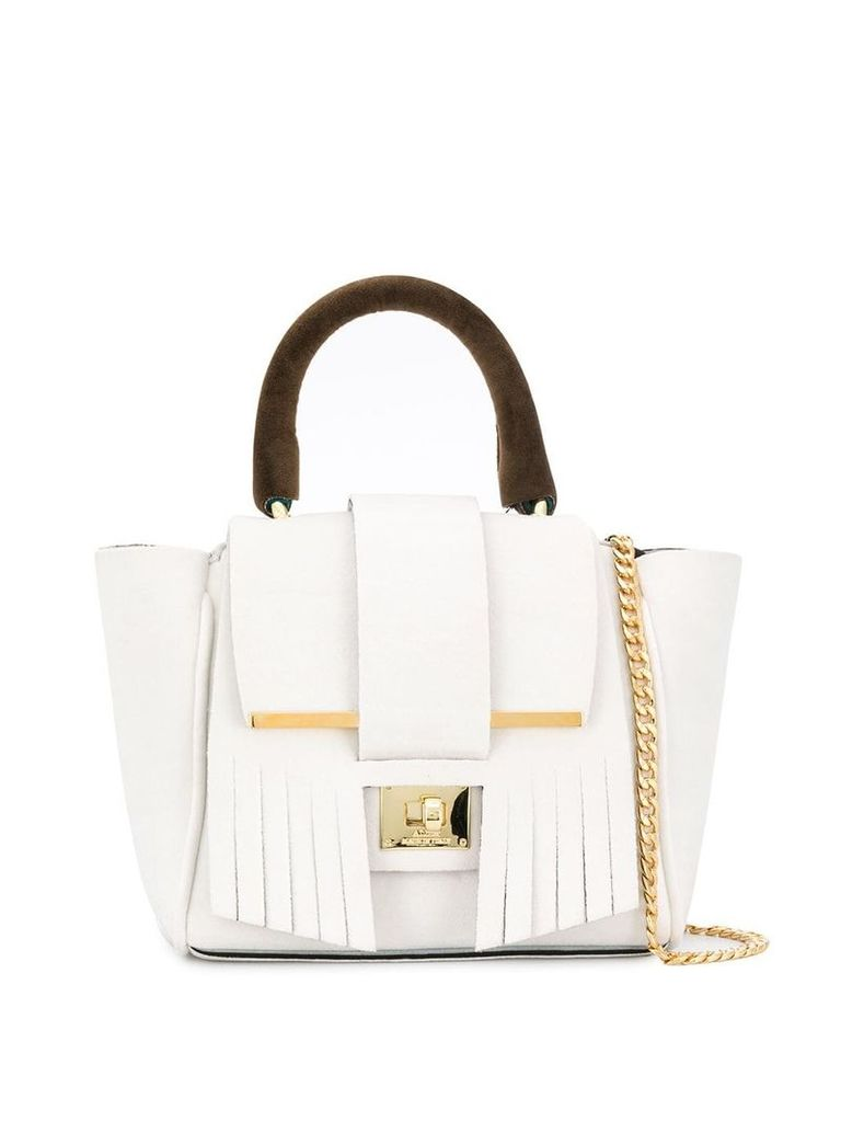 Alila small Indie tote bag - White