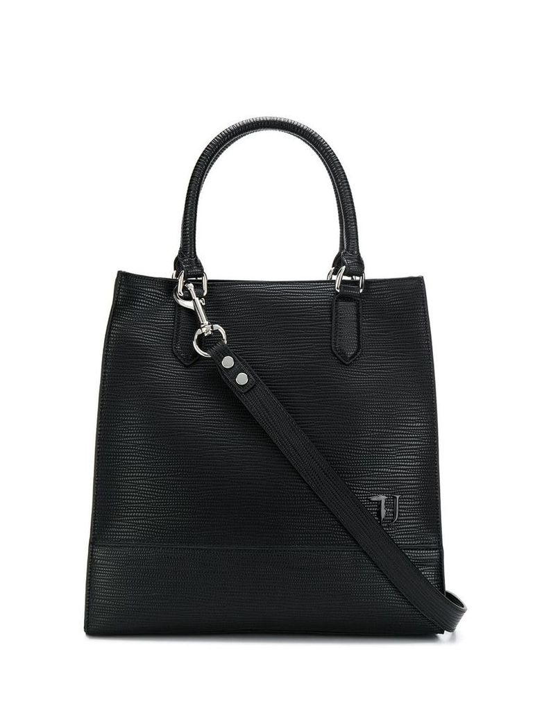 Trussardi Jeans medium tote bag - Black