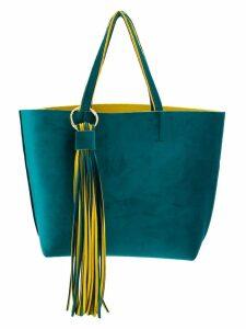 Alila fringed embellished tote bag - Yellow
