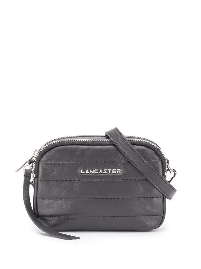 Lancaster quilted effect shoulder bag - Black