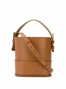 Nico Giani round tote bag - Brown