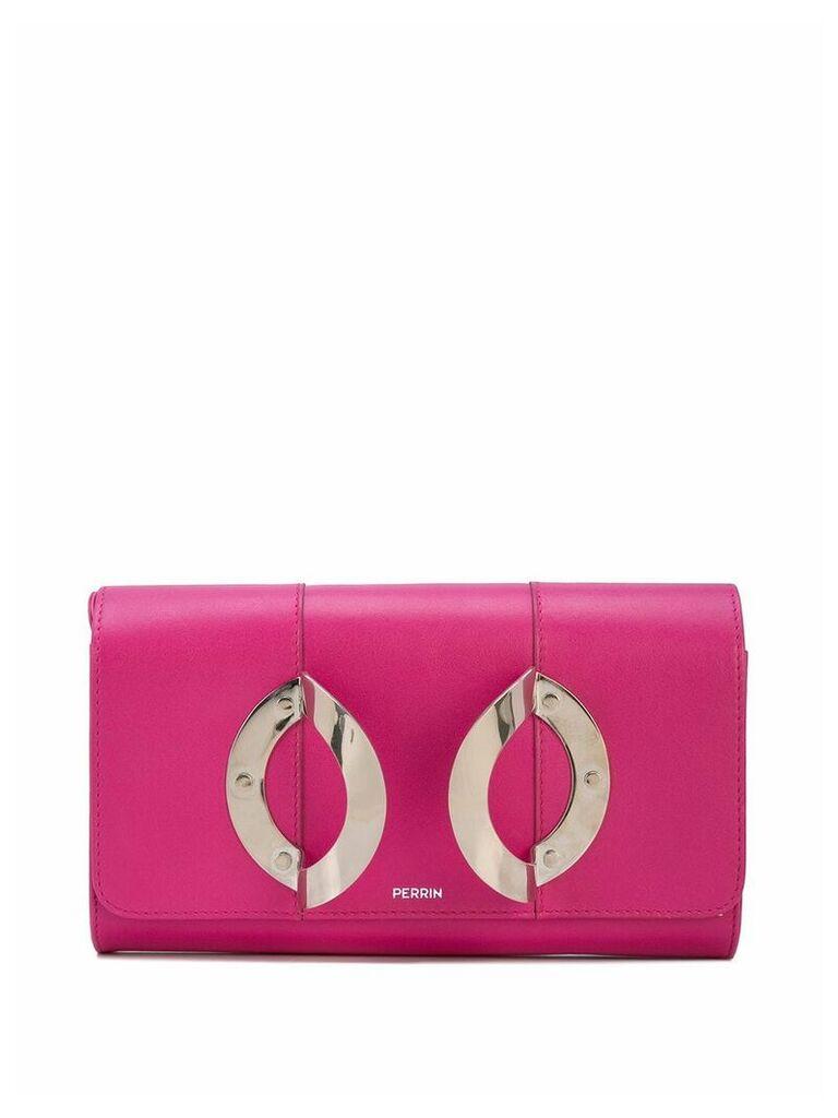 Perrin Paris La Croisiére clutch - Pink