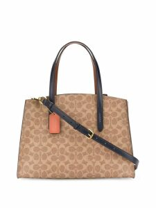 Coach coated canvas tote - Neutrals