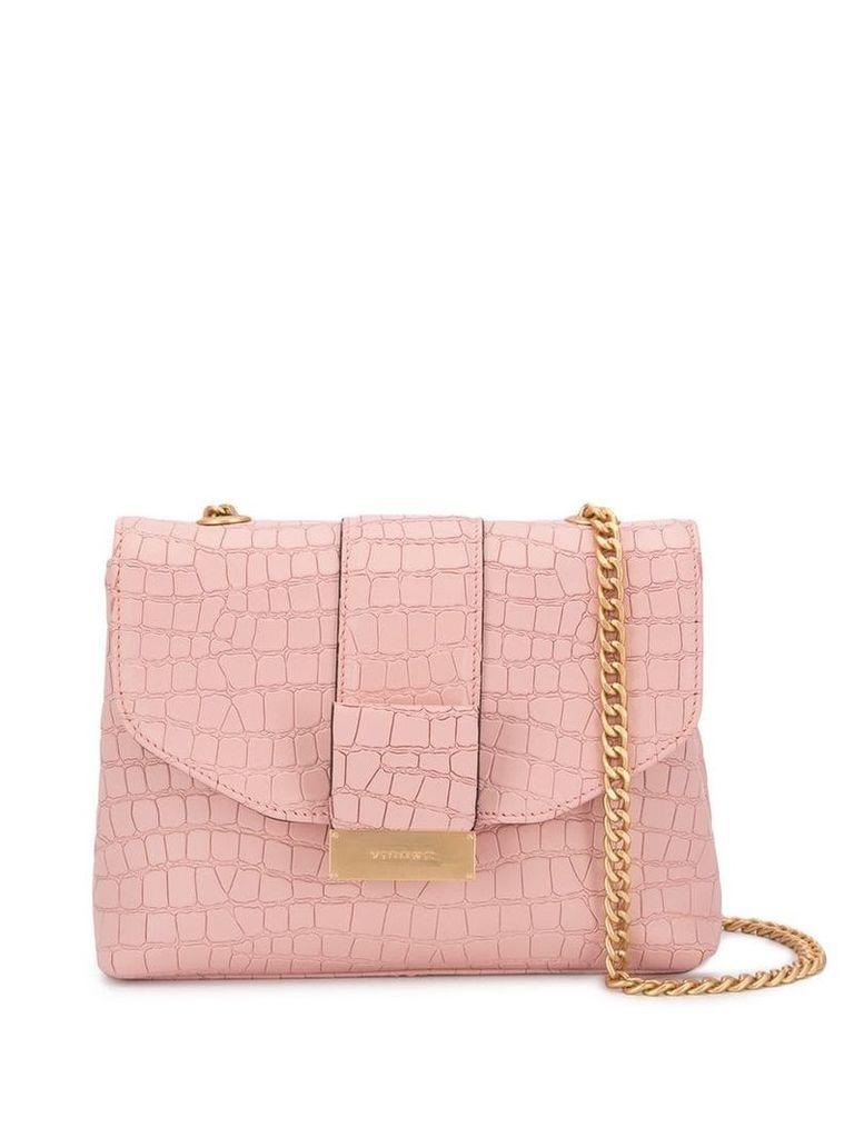 Visone Alice Cocco shoulder bag - Pink