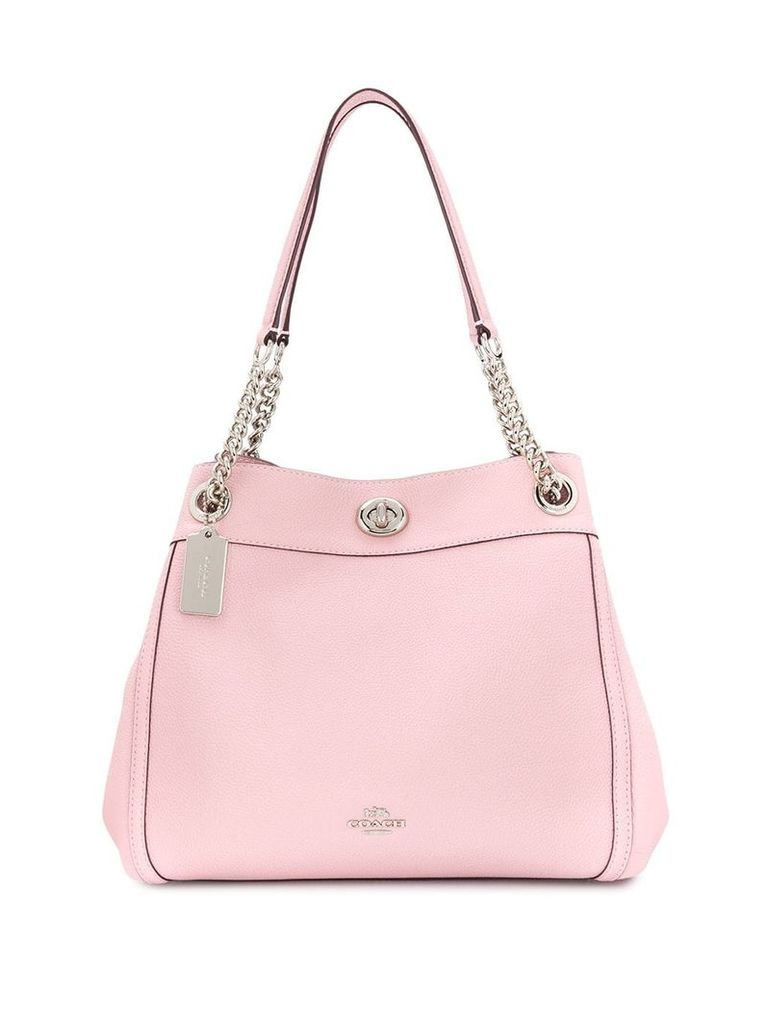 Coach Turnlock Edie shoulder bag - Pink