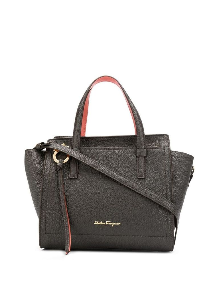 Salvatore Ferragamo Amy small tote - Blue