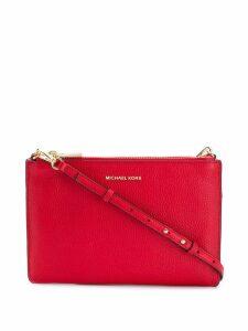 Michael Michael Kors Double-pouch crossbody bag - Red