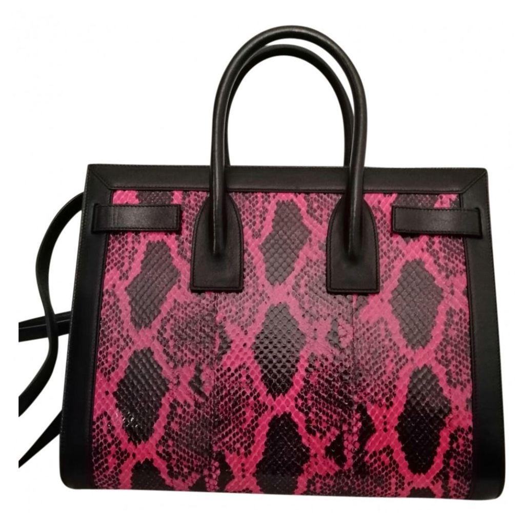 Sac de Jour python handbag