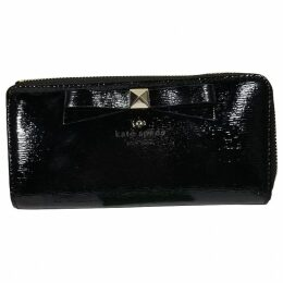 Patent leather clutch