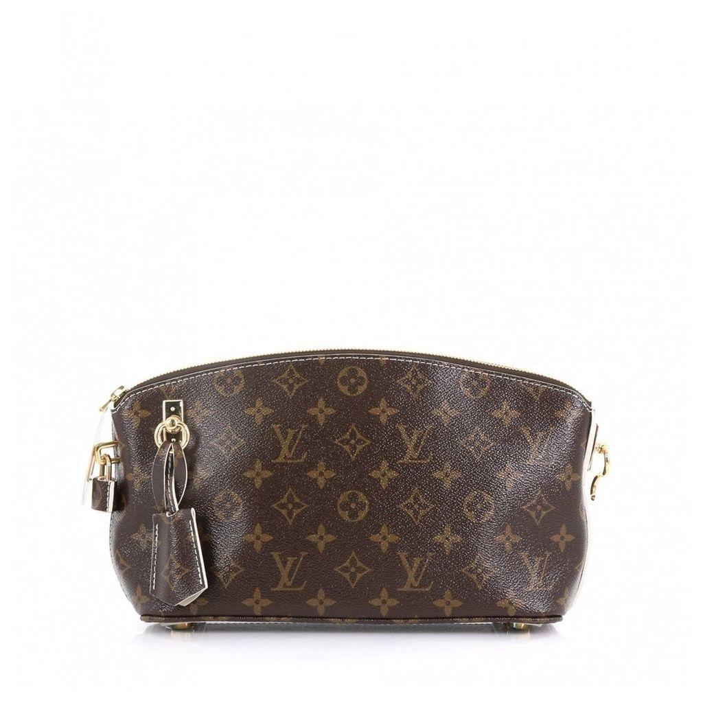 Lockit cloth clutch bag