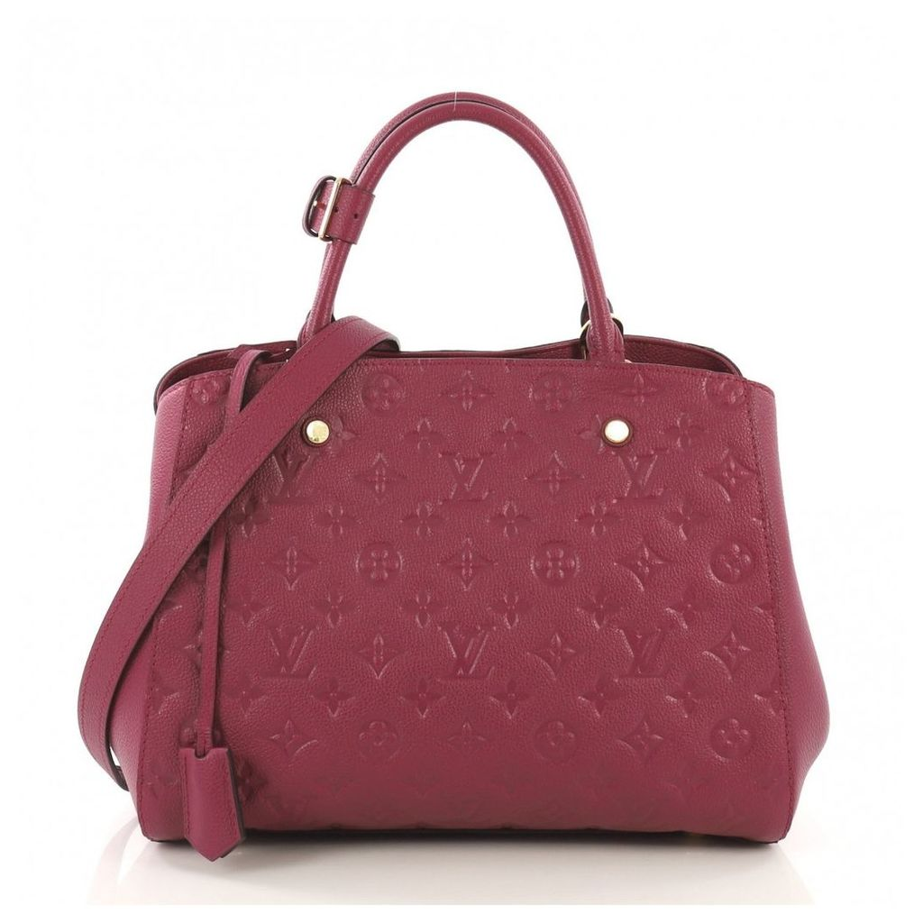 Montaigne leather handbag