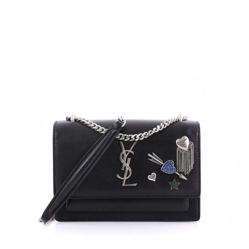 Sunset leather handbag