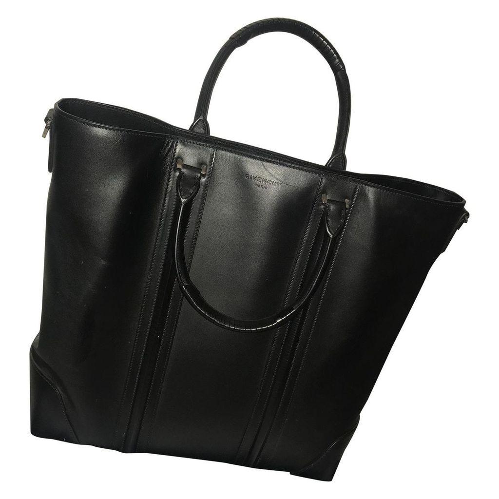 Lucrezia leather tote