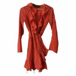 Alexandra silk mini dress