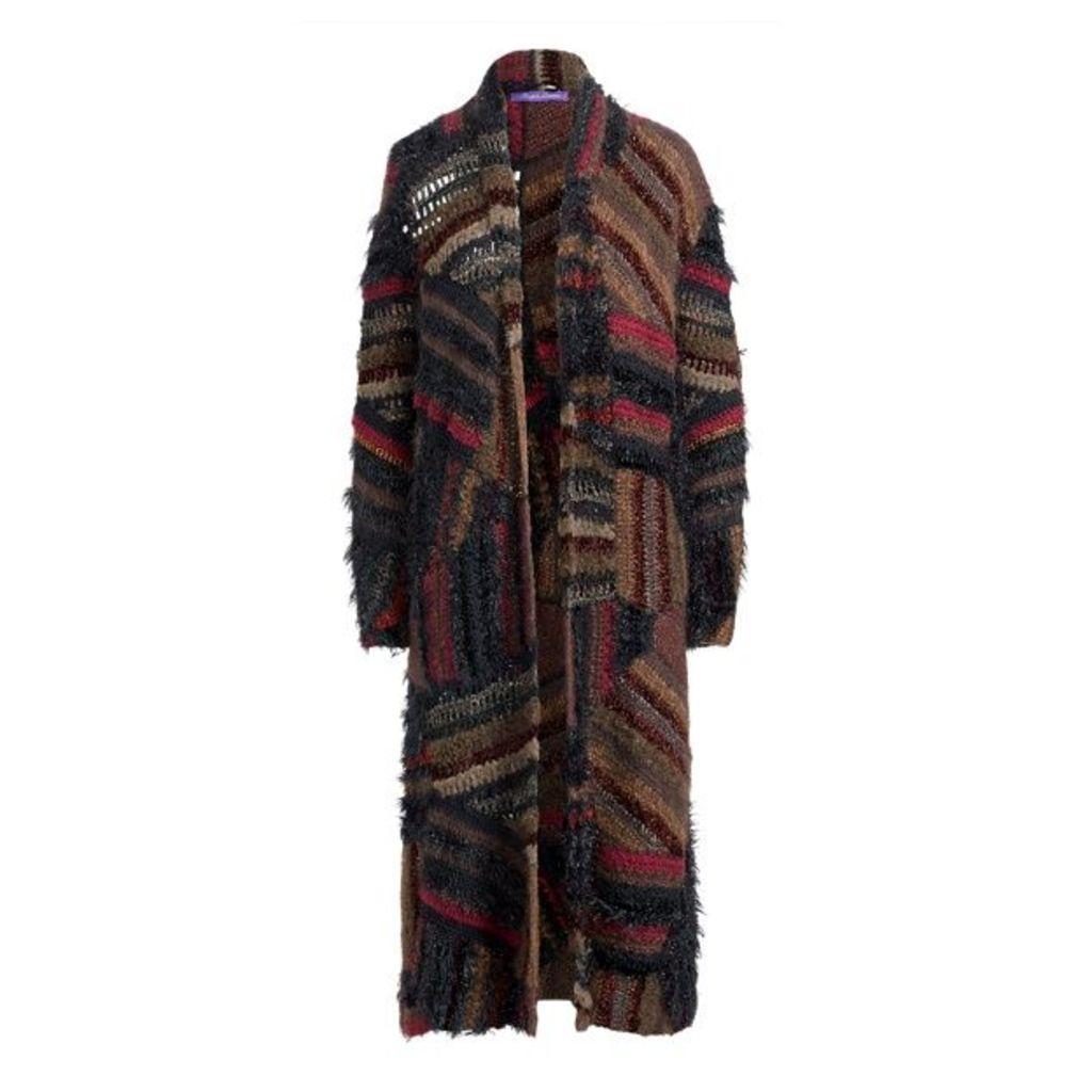 Crochet Patchwork Coat