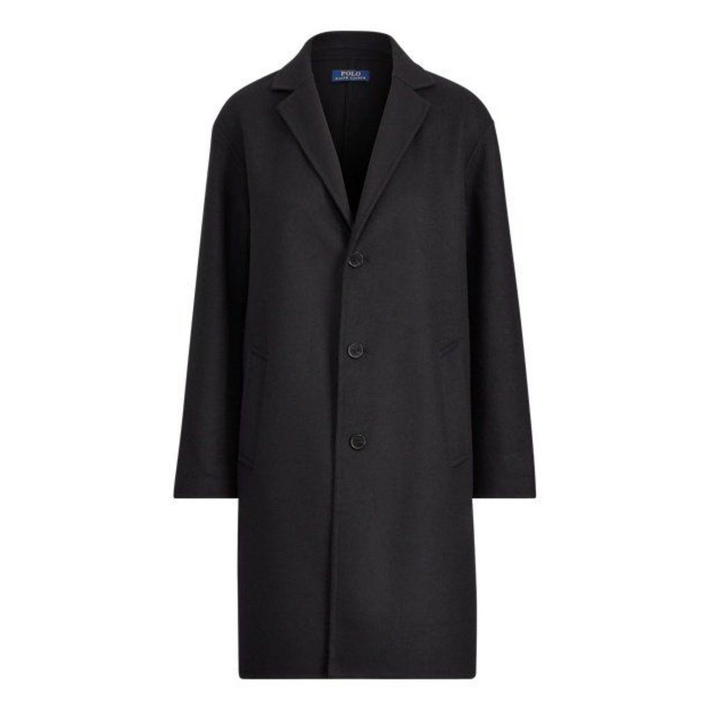 Wool-Blend Coat