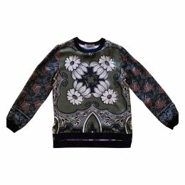 Silk sweatshirt