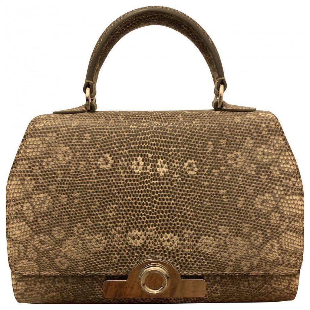 Lizard handbag