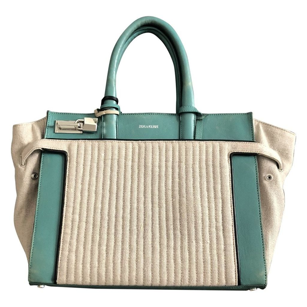 Candide leather tote