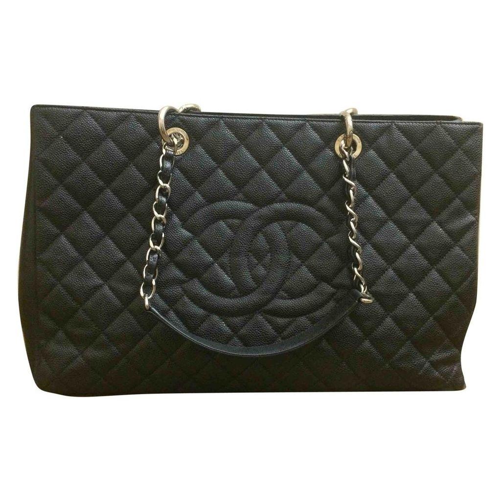 Grand shopping leather handbag
