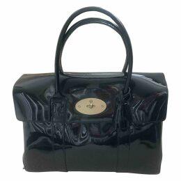 Bayswater patent leather handbag