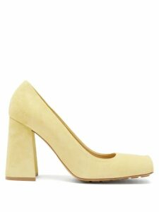 Pleats Please Issey Miyake - V Neck Tech Pleated Tunic Dress - Womens - Black