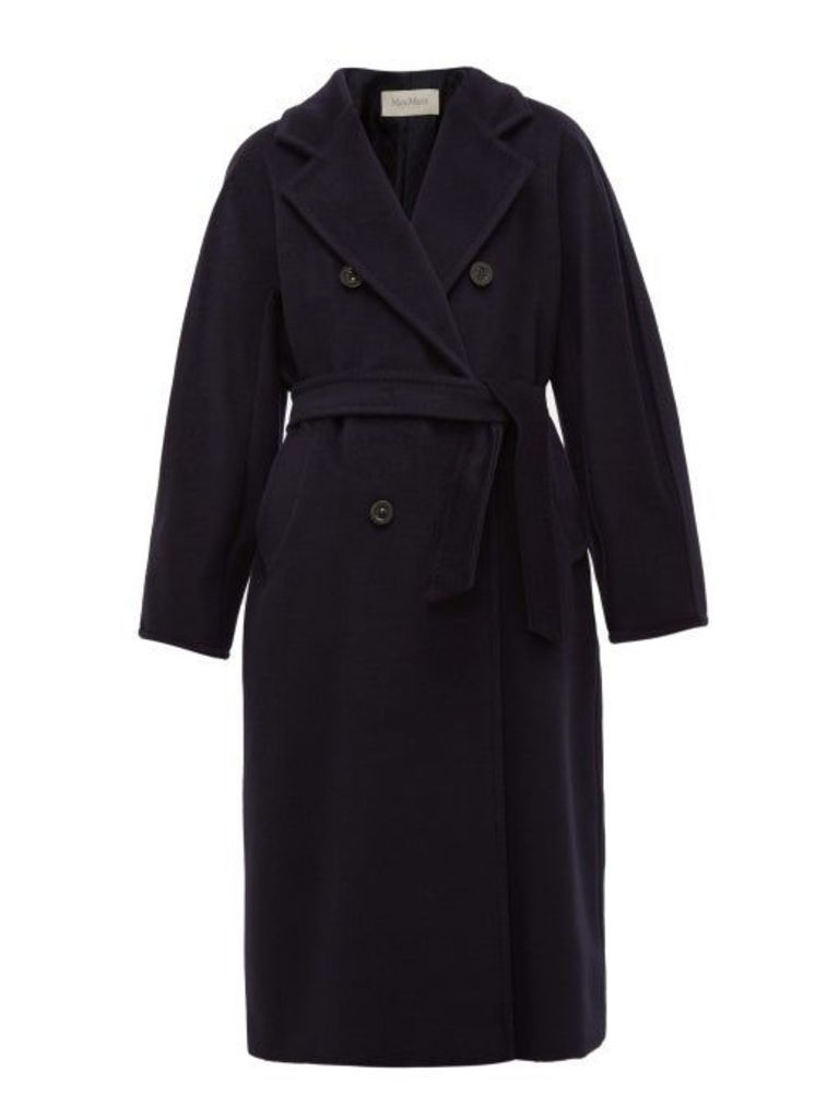 Max Mara - Madame Coat - Womens - Navy