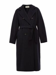 Max Mara - Madame Coat - Womens - Navy