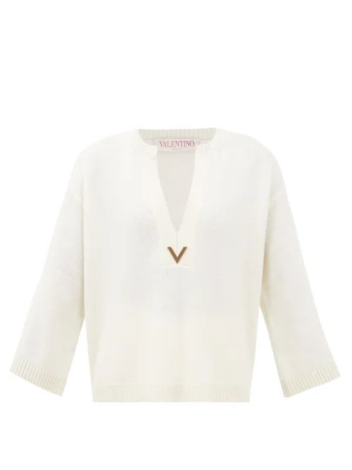Gucci - Logo Print Tie Dyed Cotton Buttoned Sweatshirt - Womens - Purple Multi