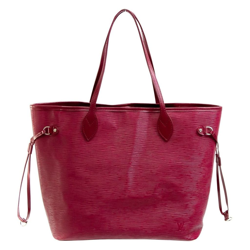 Neverfull leather tote