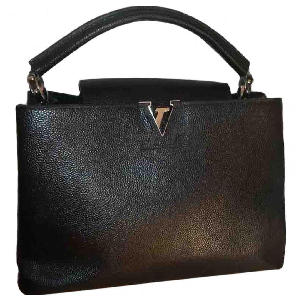 Capucines leather handbag