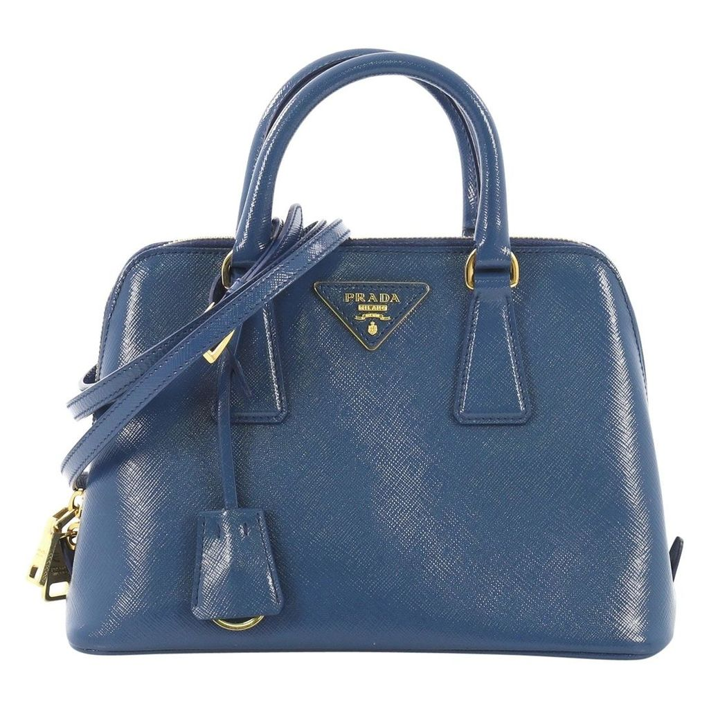 Promenade leather handbag