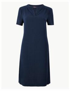 M&S Collection V-Neck Shift Dress