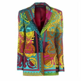 Versace Multi Print Blazer