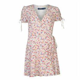 Polo Ralph Lauren Polo Womens Short Sleeved Wrap Dress