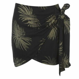 Victoria by Victoria Beckham Palm Tree Skirt