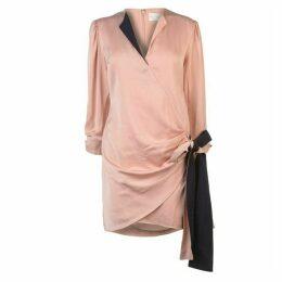 Victoria by Victoria Beckham Silk Tie Dress