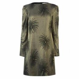 Victoria by Victoria Beckham Palm Tree Dress