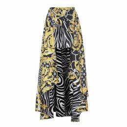 Versace Baroque Midi Skirt