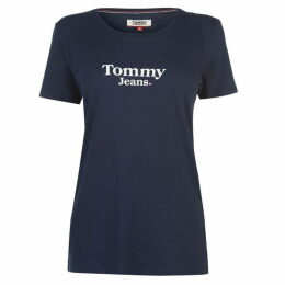 Tommy Jeans Flag Detail T Shirt