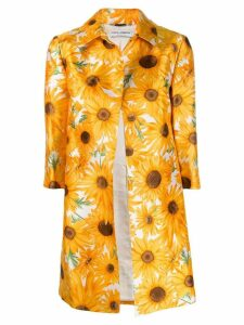 Dolce & Gabbana Pre-Owned sunflowers print coat - Yellow