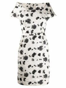 Balenciaga Pre-Owned 2010 embroidered dress - White