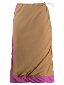 PRADA PRE-OWNED 2000's skirt - Neutrals