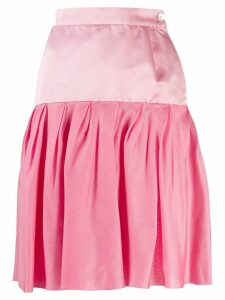 Emanuel Ungaro Pre-Owned 1980's pleated skirt - PINK