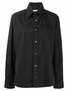 Dolce & Gabbana Pre-Owned 1990's placket detail shirt - Black
