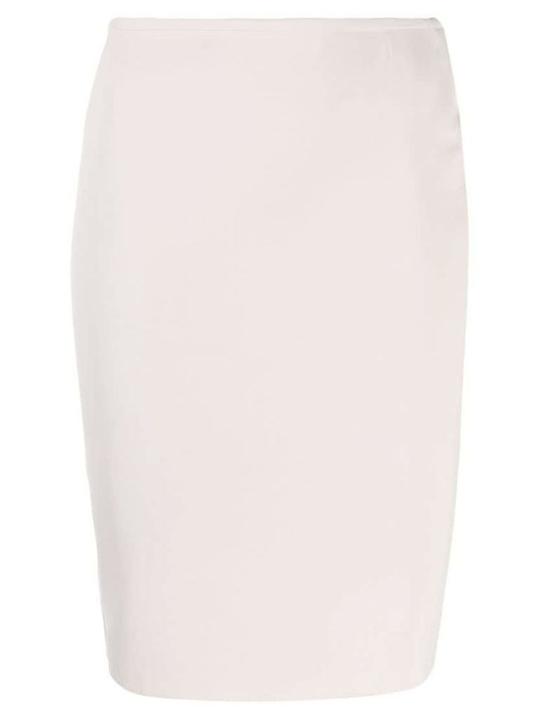 Lanvin Pre-Owned 2011's fitted short skirt - Neutrals