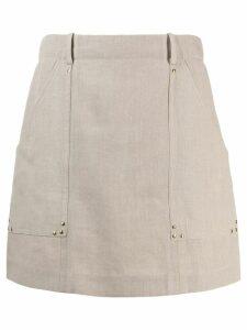 Céline Pre-Owned 2000's A-line skirt - Neutrals
