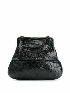 Fendi Pre-Owned 1990's crocodile embossed tote - Black